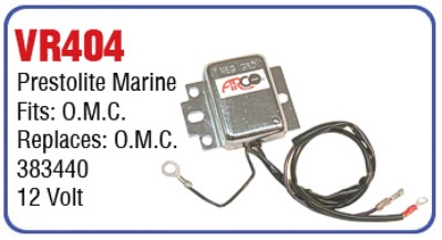 57-VR404   383440 PREST MARINE REGULATOR
