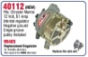57-40112   P-ALTERNAT CHRYSLER REMAN.40A