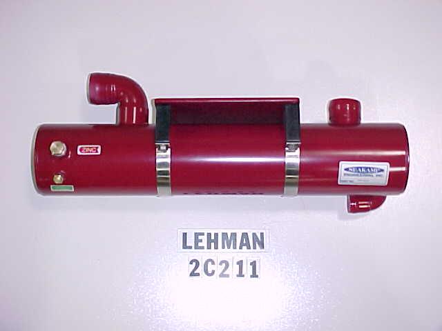 Sk Leh 2c211 Lehman Heat Exchanger Rear Mount 380 6 Cyl