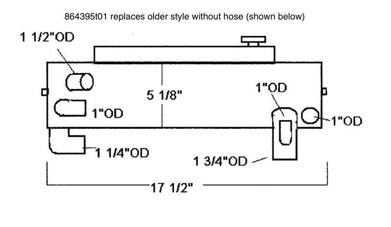 Sk Mer 864395t01 Mercruiser Heat Exchanger By Seakamp Engineering