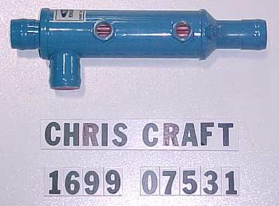 SK CC 1699-07531 Oil Cooler Chris Craft Model 283-327 F