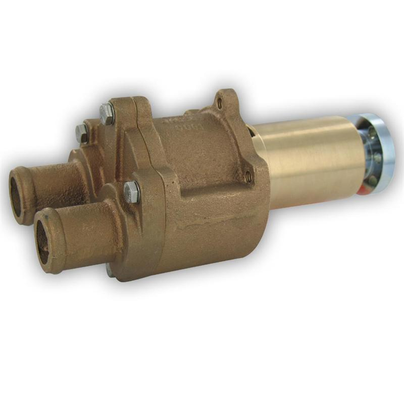 4-107 and 4-108 Perkins, 3//4 NPT Vertical Ports, Coupling Drive Jabsco 3270-0001 Marine Flexible Impeller Engine Cooling Replacement Pump