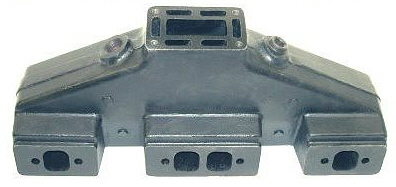 HGE 5804 Volvo Penta Exhaust Manifold GM Small Block Chevy V8 1979-93