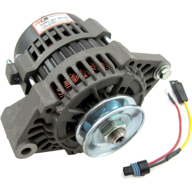 Arco 65108 High Output Alternator  12v 75 Amp Mando