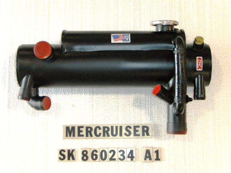 SK MER 860234A1 Heat Exchanger MerCruiser 4 3L, 5 0L, 5 7L