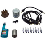 MMD-C318ELT-S Chrysler LM318, M340 and M360, 1984 & up, Mallory Electronic Ignition Tune Up Kit, screw down cap