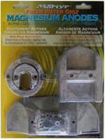 CM-ALPHAKITM Magnesium Anode Kit for MerCruiser Alpha 1 Gen 2