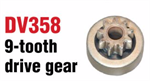 Arco DV358 9-Tooth Drive Gear