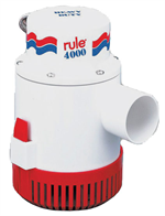 Rule 56D 4000 GPH 12 Volt Non-Automatic Bilge Pump