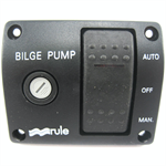 Rule 43 3-Way Rocker Switch Bilge Panel