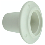 Centek 1200302 Thru Hull Fitting Without Flapper, White 2
