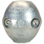 Canada Metals CMX02 7/8 in. Zinc Streamlined Shaft Anode