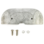 Canada Metals CM821629KITA Mercruiser Aluminum Housing Plate Anode Kit