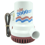 Rule 12 2000 GPH Non-Automatic Bilge Pump